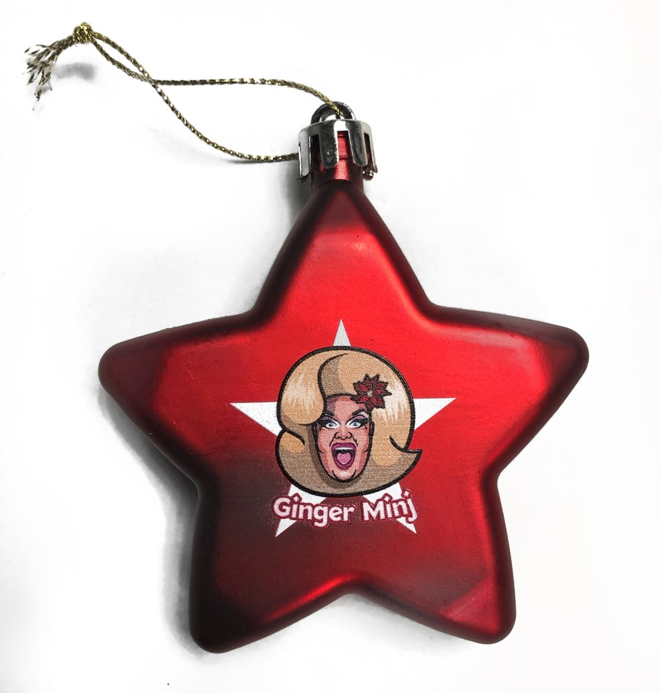 "Image of ""Merry Minj-Mas!"" Christmas Ornament"