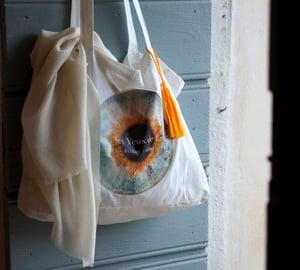 Image of Tote Bag Dans les Yeux de Lucie - Format Cabas
