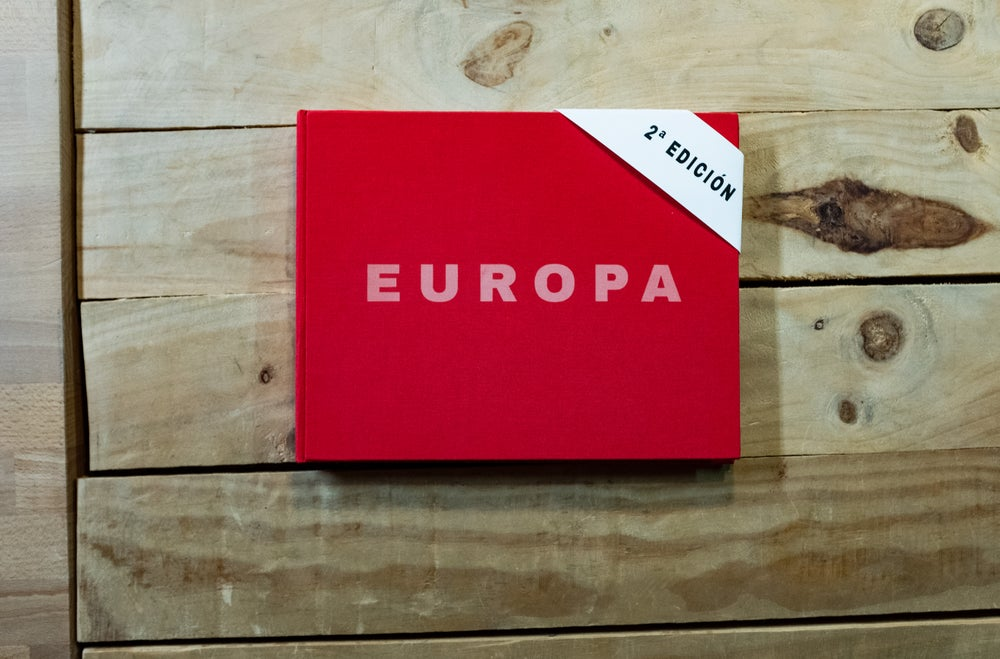 "Image of ""Europa"" the photobook"