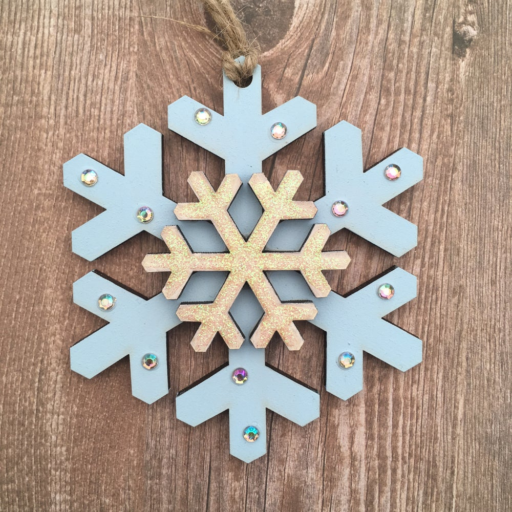 Image of Double Snowflake
