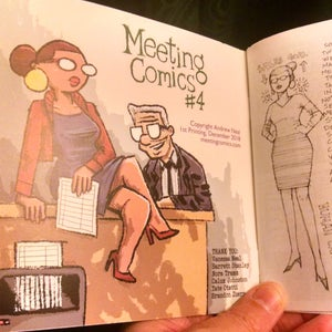 Image of Meeting Comics #4 PREORDER