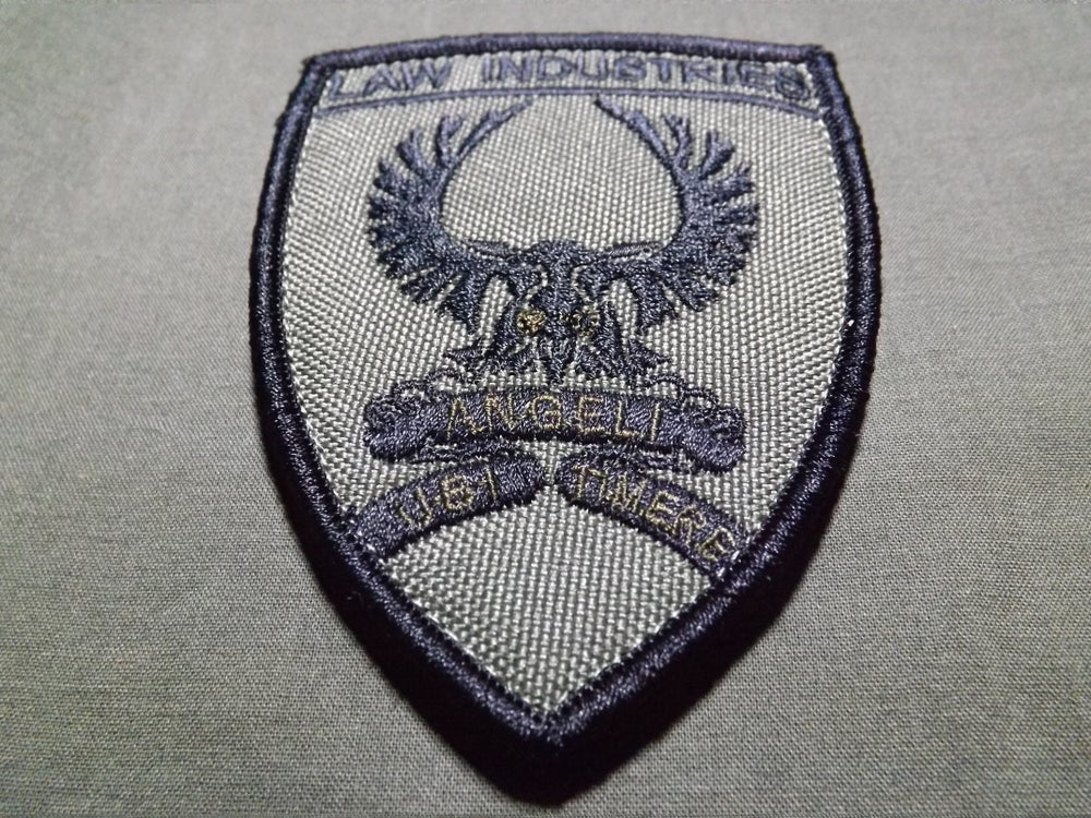 Image of L.I Ubi Angeli Timere Official Unit Patch