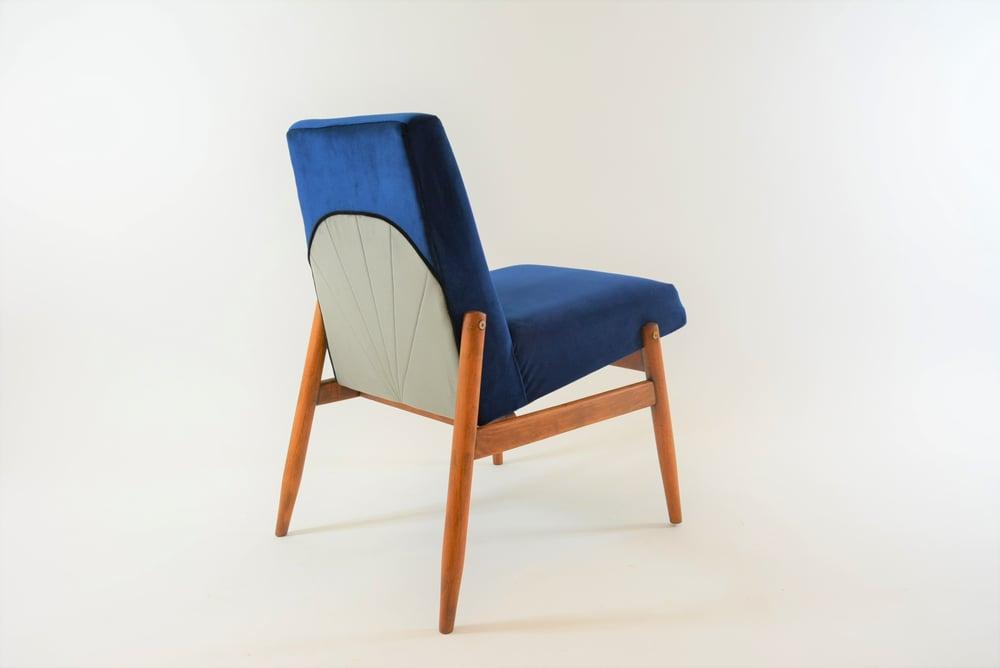 Image of Fauteuils Art Deco bleus