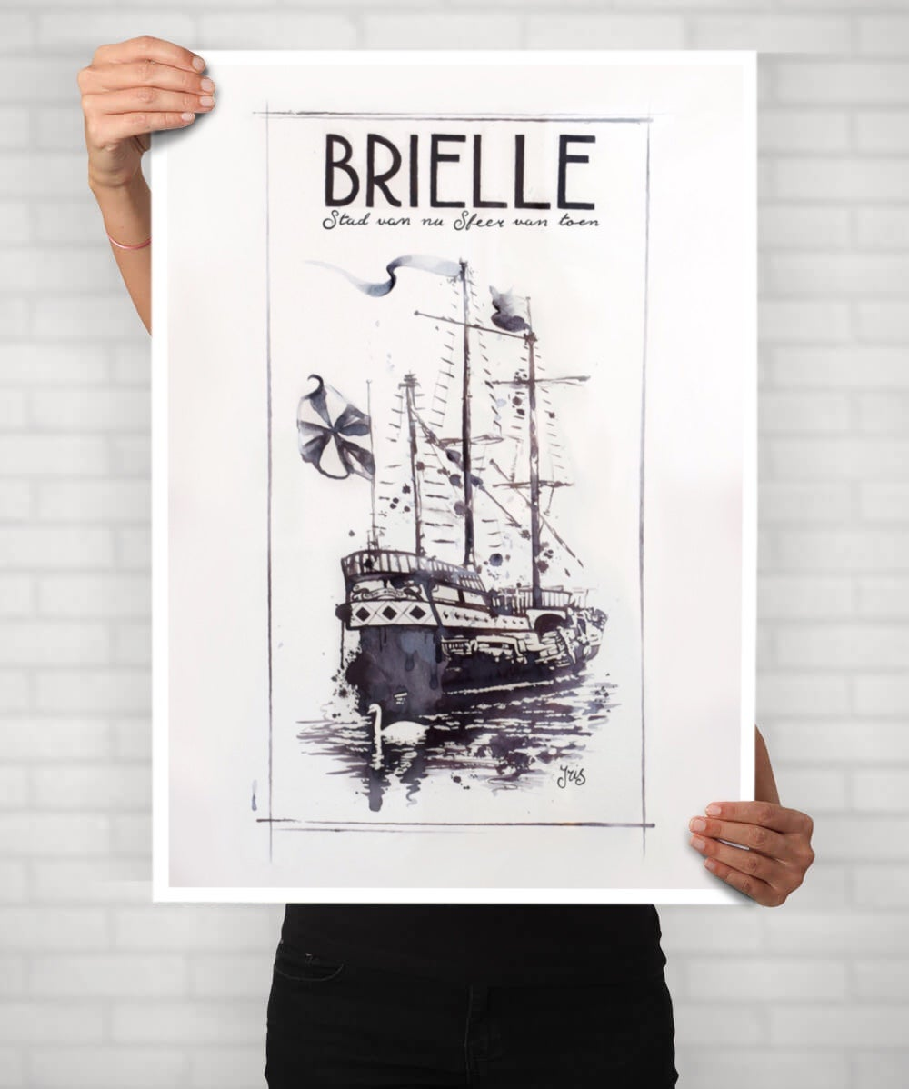 Image of Brielsch Trots print