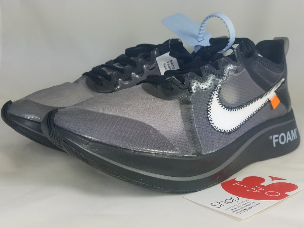 Image of OFF-WHITE Zoom Fly SP  Black