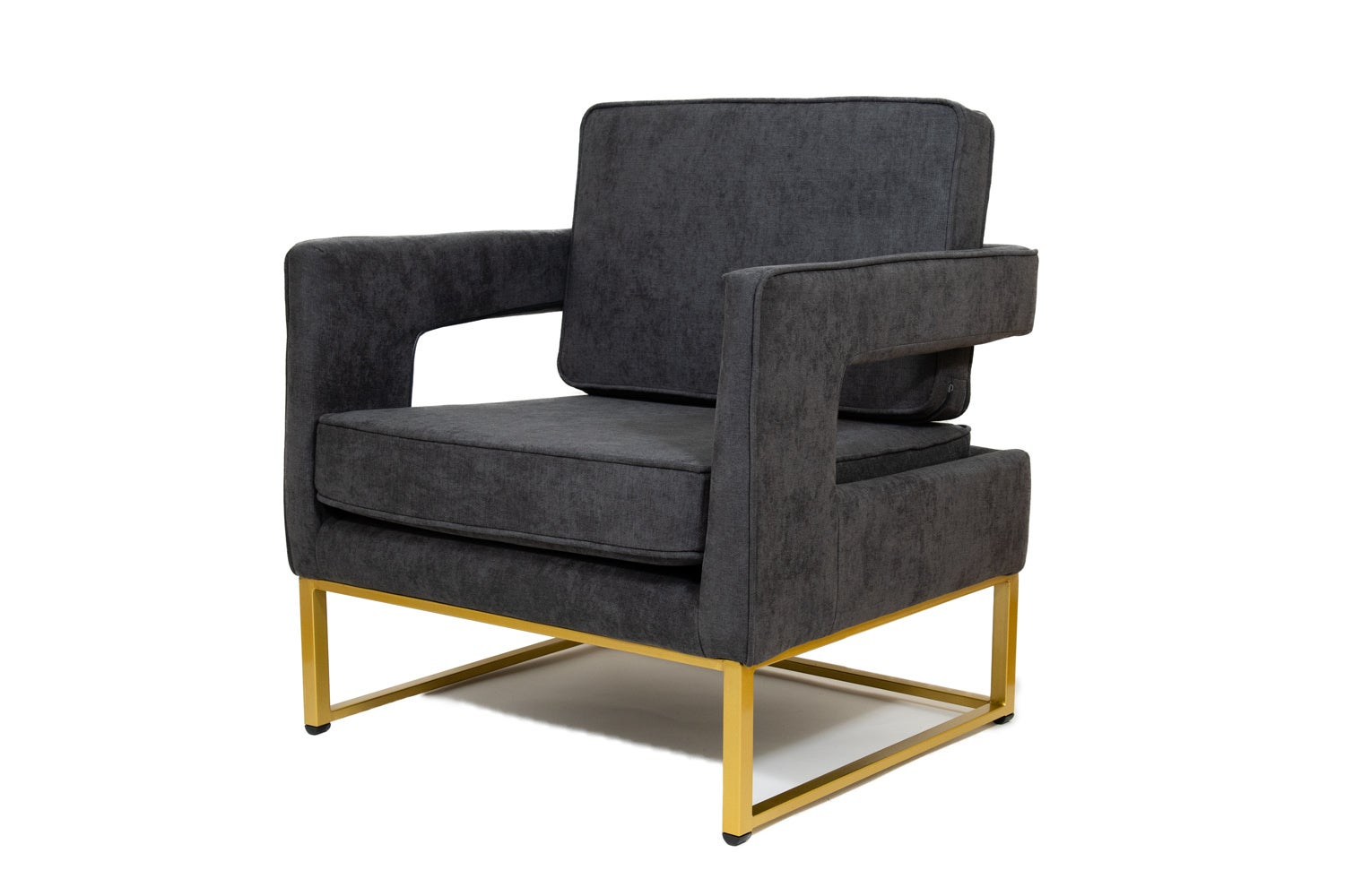 Fabulous Grey Linen Designer Fabric Carlo Accent Chair W Gold Base Rrp 1044 99 Ibusinesslaw Wood Chair Design Ideas Ibusinesslaworg