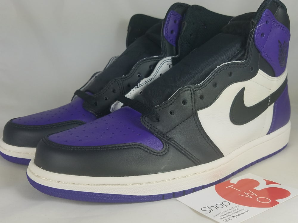"Image of Air Jordan 1 Retro ""Court Purple"""