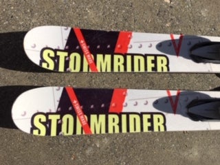 Image of Stockli Stormrider TT-166 Skis w/Tyrolia HD14 bindings