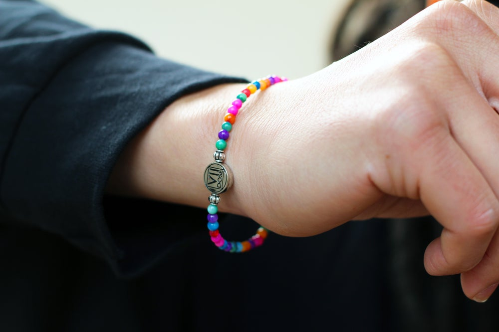 "Image of ""Hmong New Year"" Energy Jem Bracelet (Multi-Color) - VII DOSE X KuvLi"