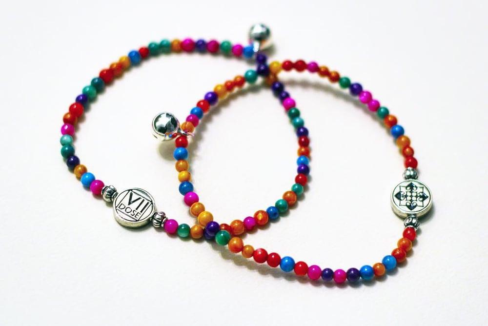 "Image of ""Hmong New Year"" Energy Jem Bracelet (Multi-Color) - VII DOSE X KuvLi"