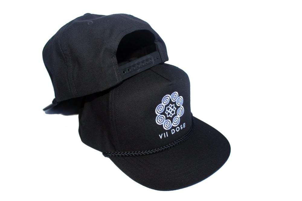 "Image of ""Roots & Culture"" Rope Snap Back (Black)"