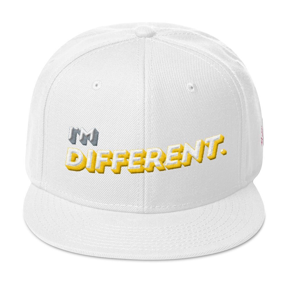 40c116ac420 Image of I M DIFFERENT WOOL BLEND SNAPBACK