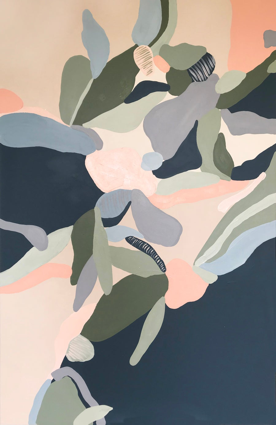 Image of ELYSIAN SERIES - 'Turning over a new leaf' by Caroline Bournon