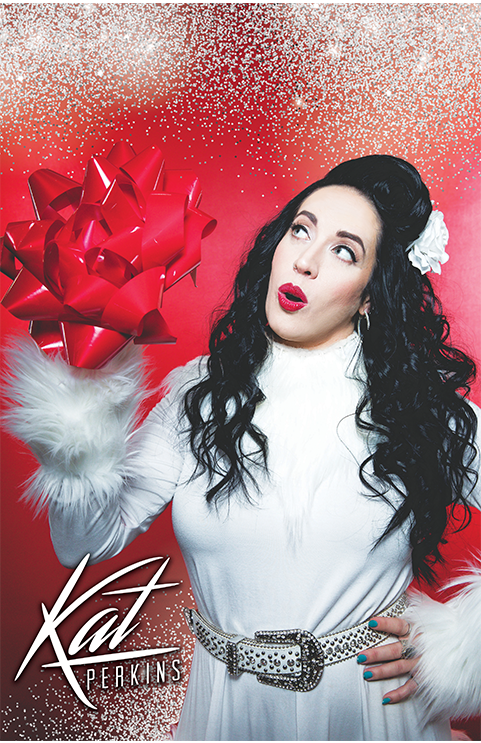 Image of All That Glitters Christmas poster
