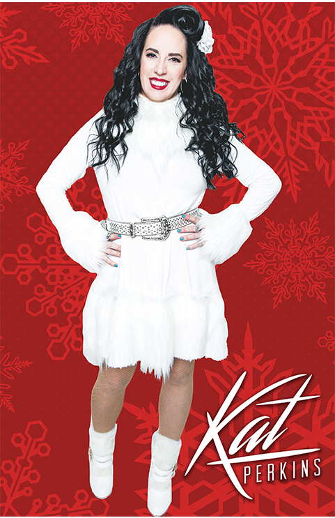 Image of Snowflakes Christmas poster