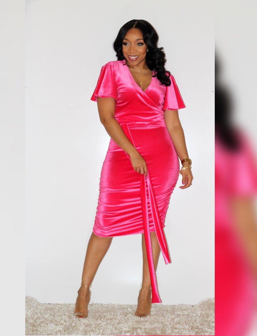 Image of Velvet Belle Skirt Set