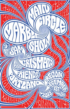 Image of MAIN CIRCLE MARBLE SHOW- POSTERS