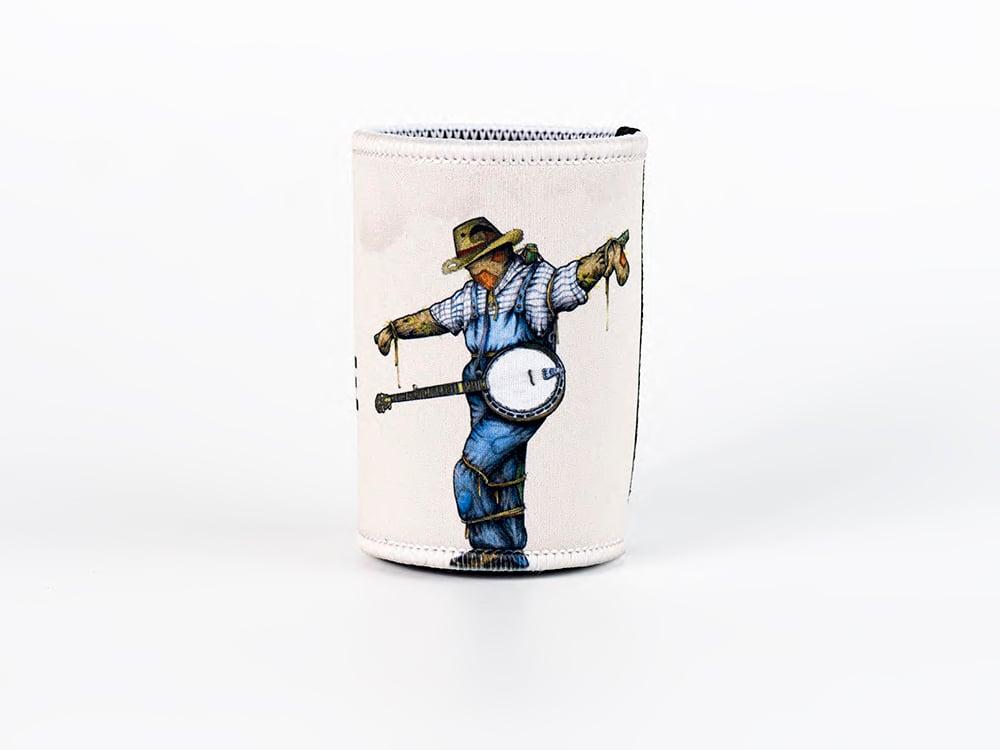 'Banjo Scarecrow' Stubby Holders