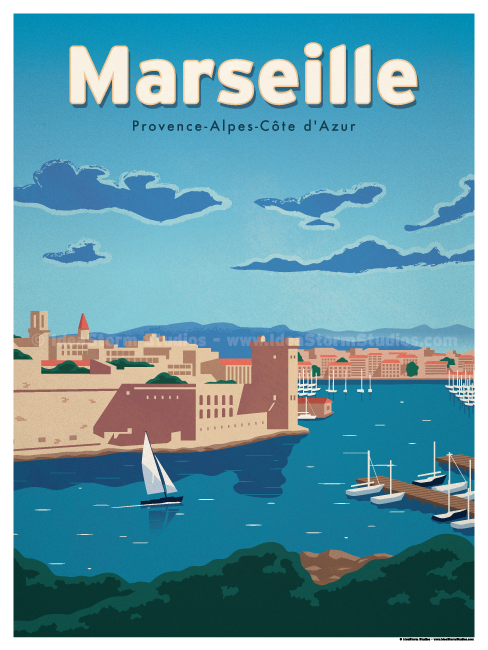Image of Marseille Poster
