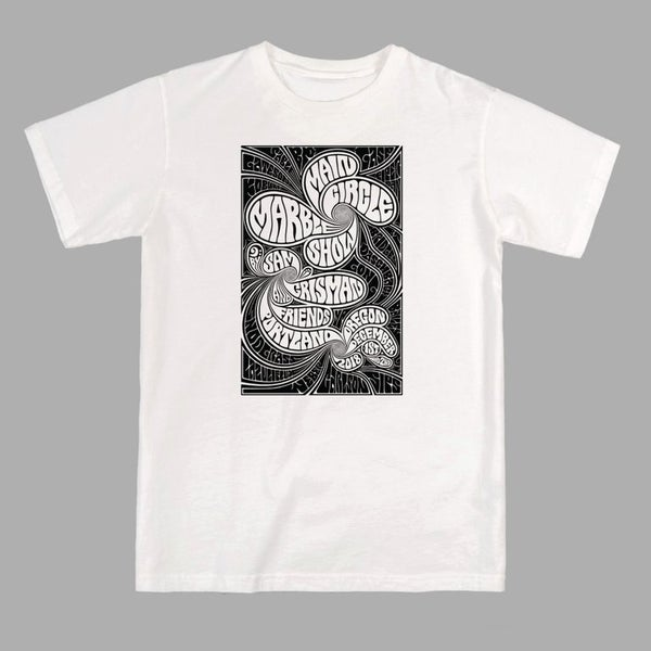 Image of MAIN CIRCLE MARBLE SHOW - TSHIRT