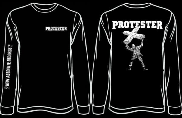Image of PROTESTER 3-Sided Longsleeve