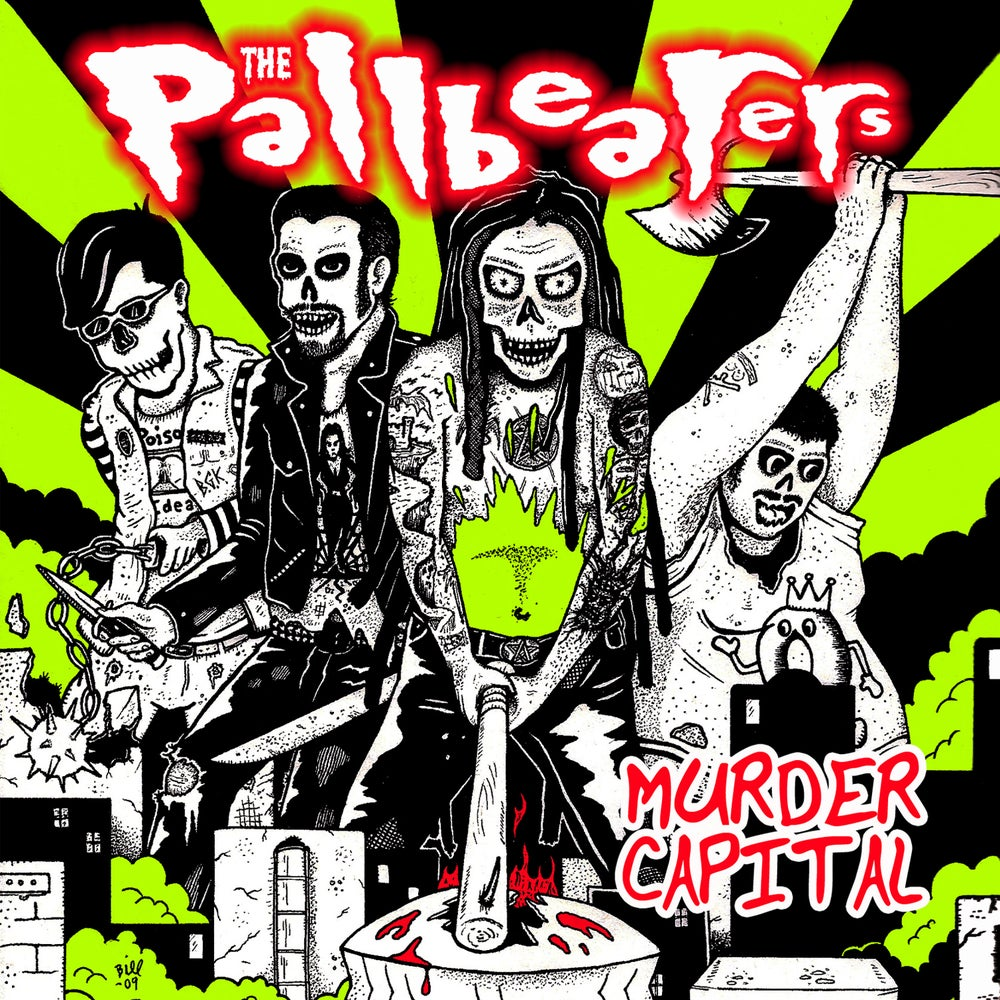 "Image of The Pallbearers ""Murder Capital"" CD"