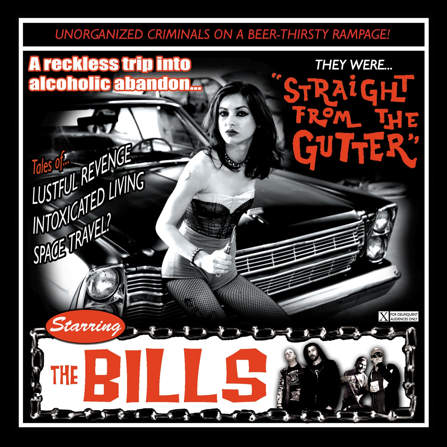 "Image of The Bills ""Straight From The Gutter"" CD"