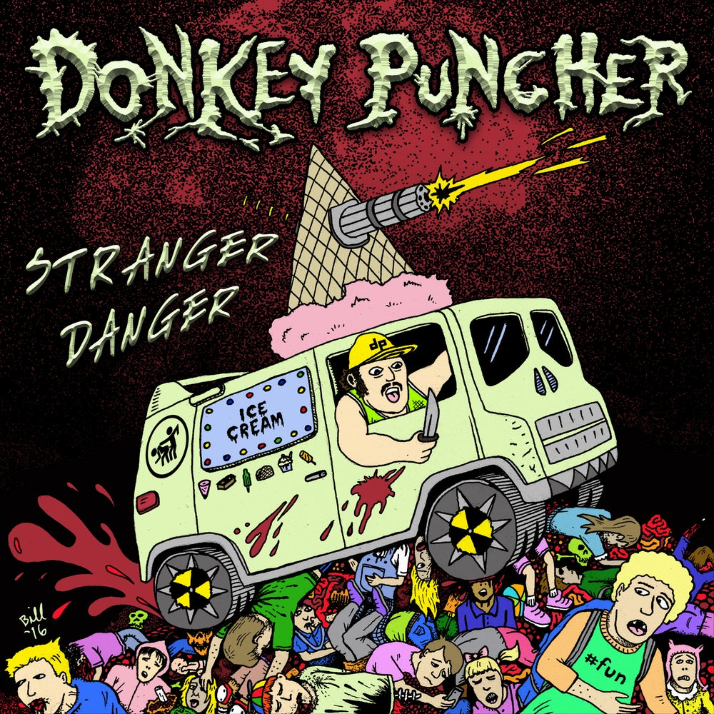 "Image of Donkey Puncher ""Stranger Danger"" CD"