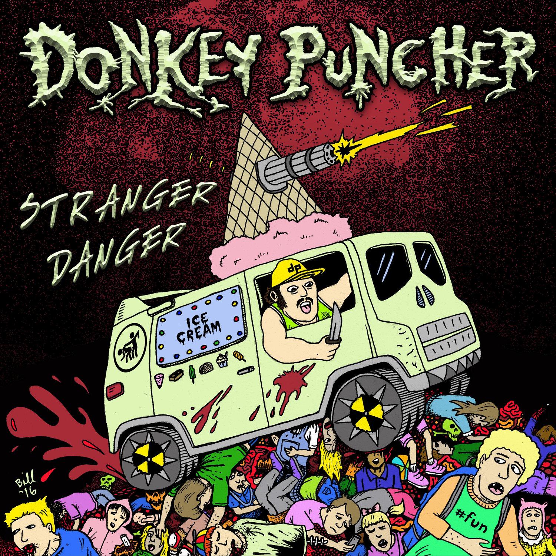 """Image of Donkey Puncher """"Stranger Danger"""" CD"""