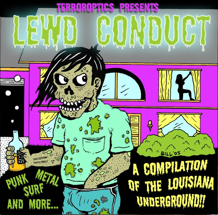 "Image of ""Lewd Conduct"" Compilation CD"