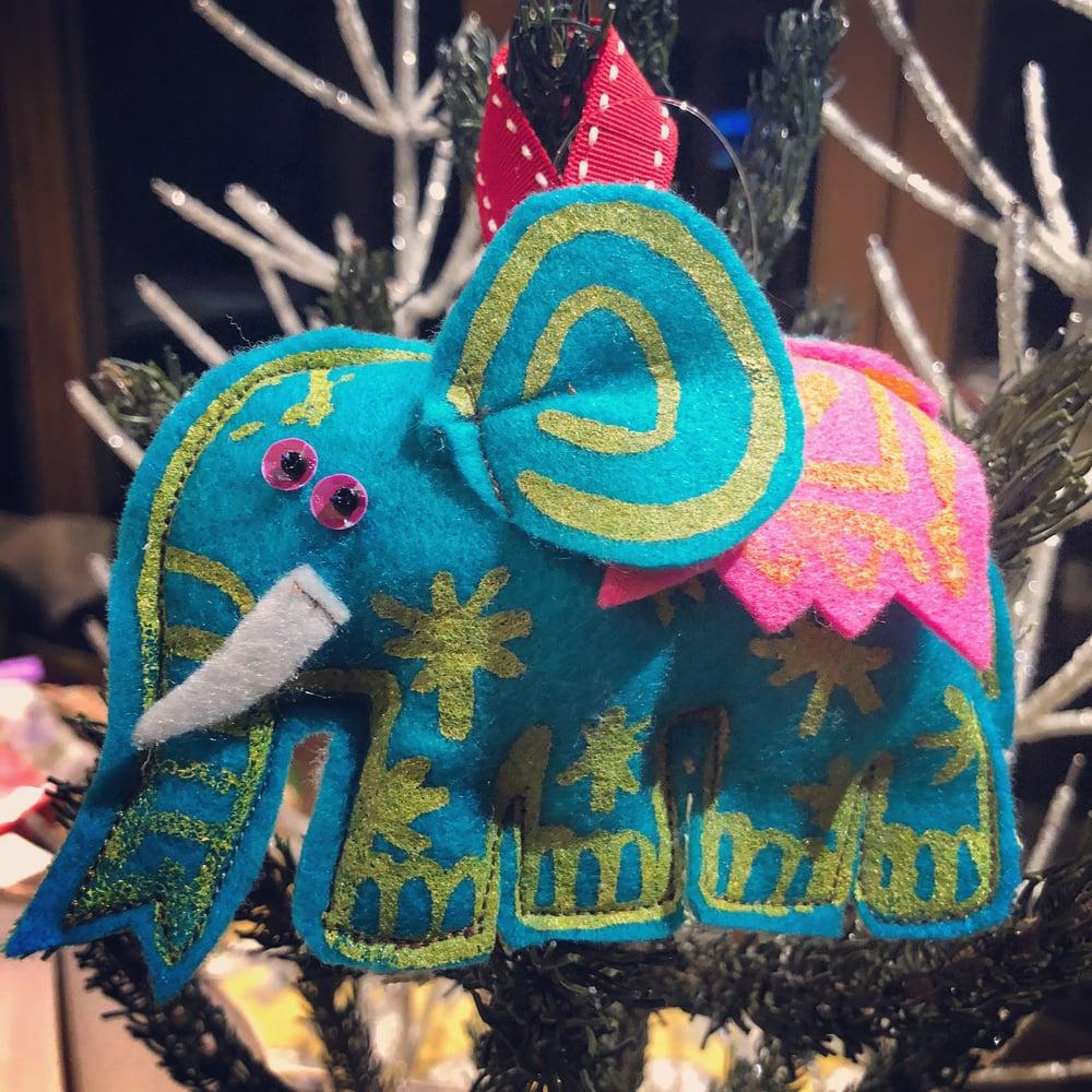 Image of Elephant Decoration