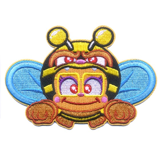 Image of Honey Bee Girl Iron-On Patch