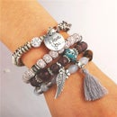 Image 2 of Boho Love Bracelet Set
