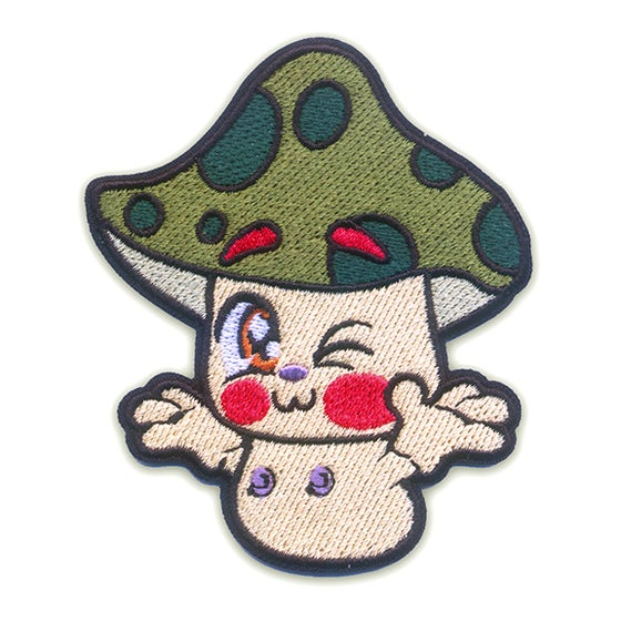 Image of Fun Guy Iron-On Patch