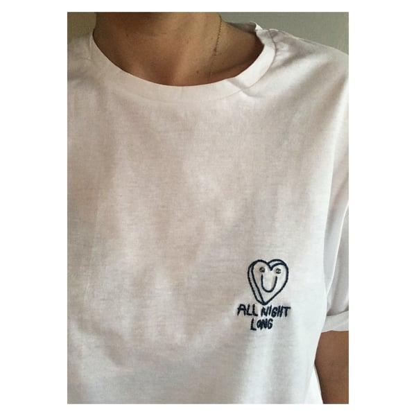 Image of Tshirt «all night long»