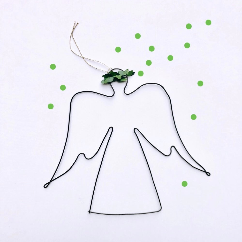 Image of Ange couronné à suspendre