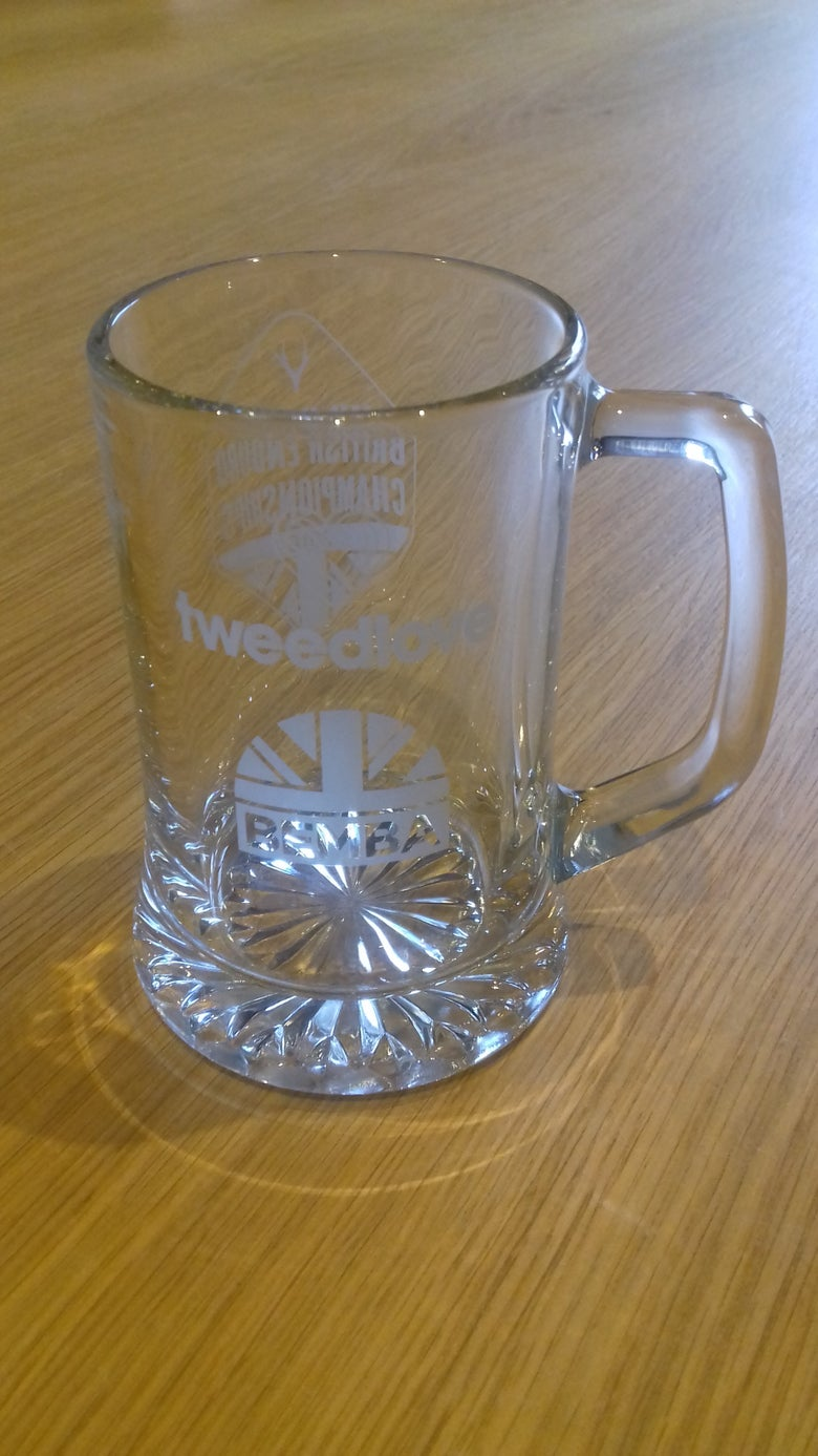 Image of TweedLove BEMBA 2018 Glass Tankard