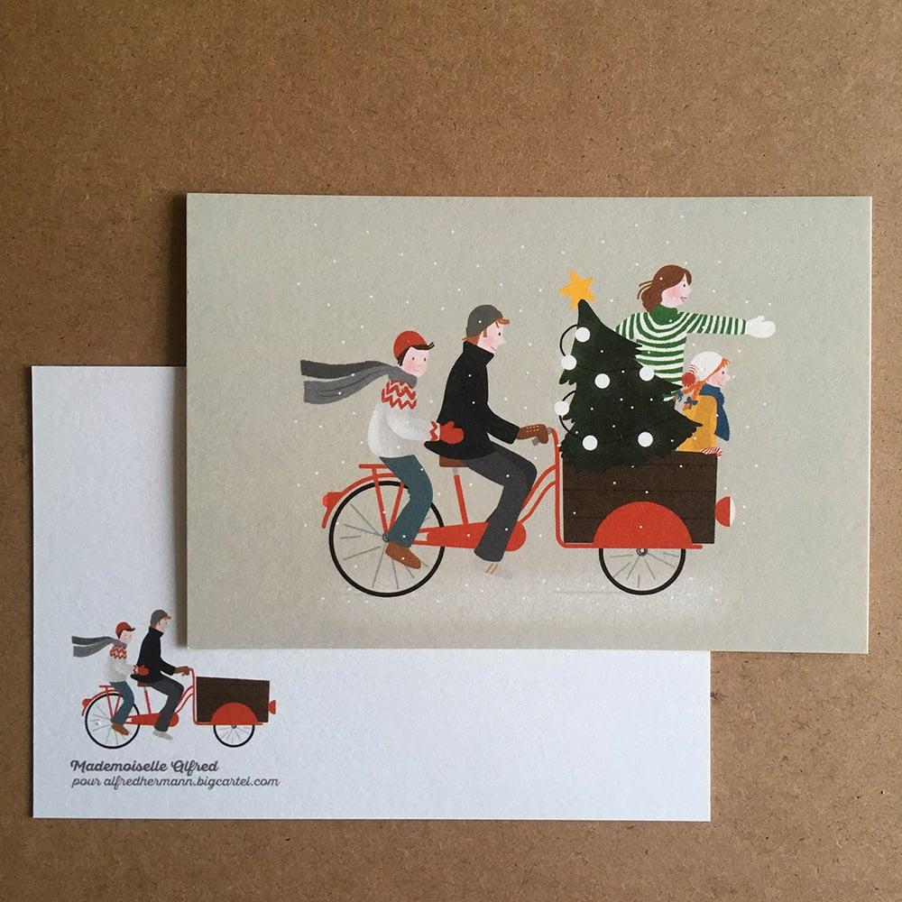 """Image of Carte postale """"En avant, Noël !"""""""