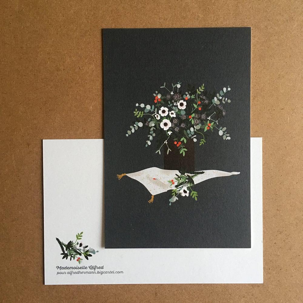 """Image of Carte """"bouquet d'hiver"""""""