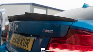 Image of BMW M235i M240i carbon rear spoiler ( M4 style )