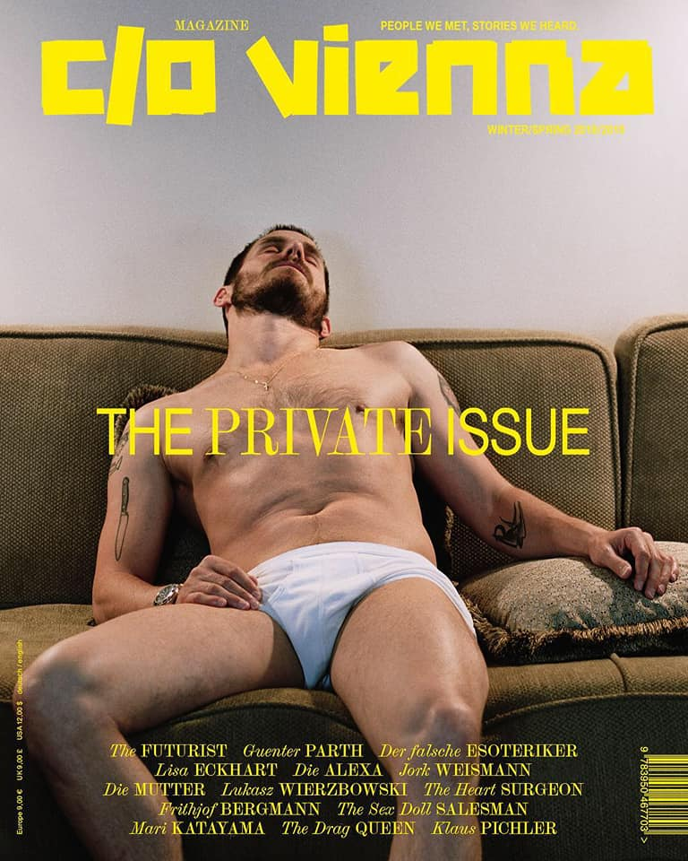 "Image of C/O VIENNA MAGAZINE ""THE PRIVATE ISSUE"" - COLLECTORS PIECE"