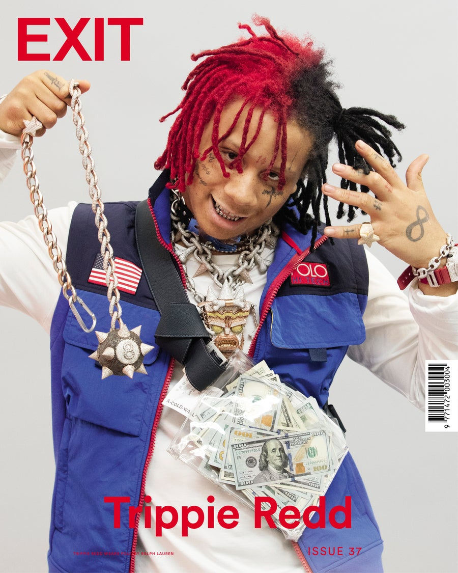 Image of EXIT ISSUE 37 AUTUMN WINTER 2018 TRIPPIE REDD COVER ***SOLD OUT***