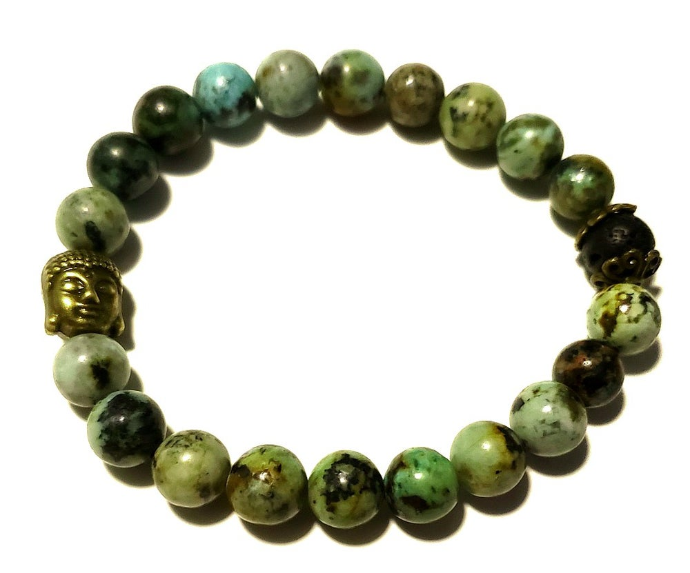 Image of Prosperity with African Turquoise