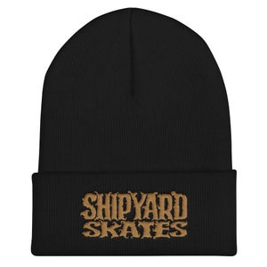 Image of Shipyard Skates Embroidered Beanie