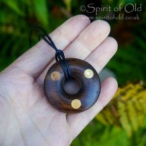 Image of Irish Faery Ring pendant (PE1290)