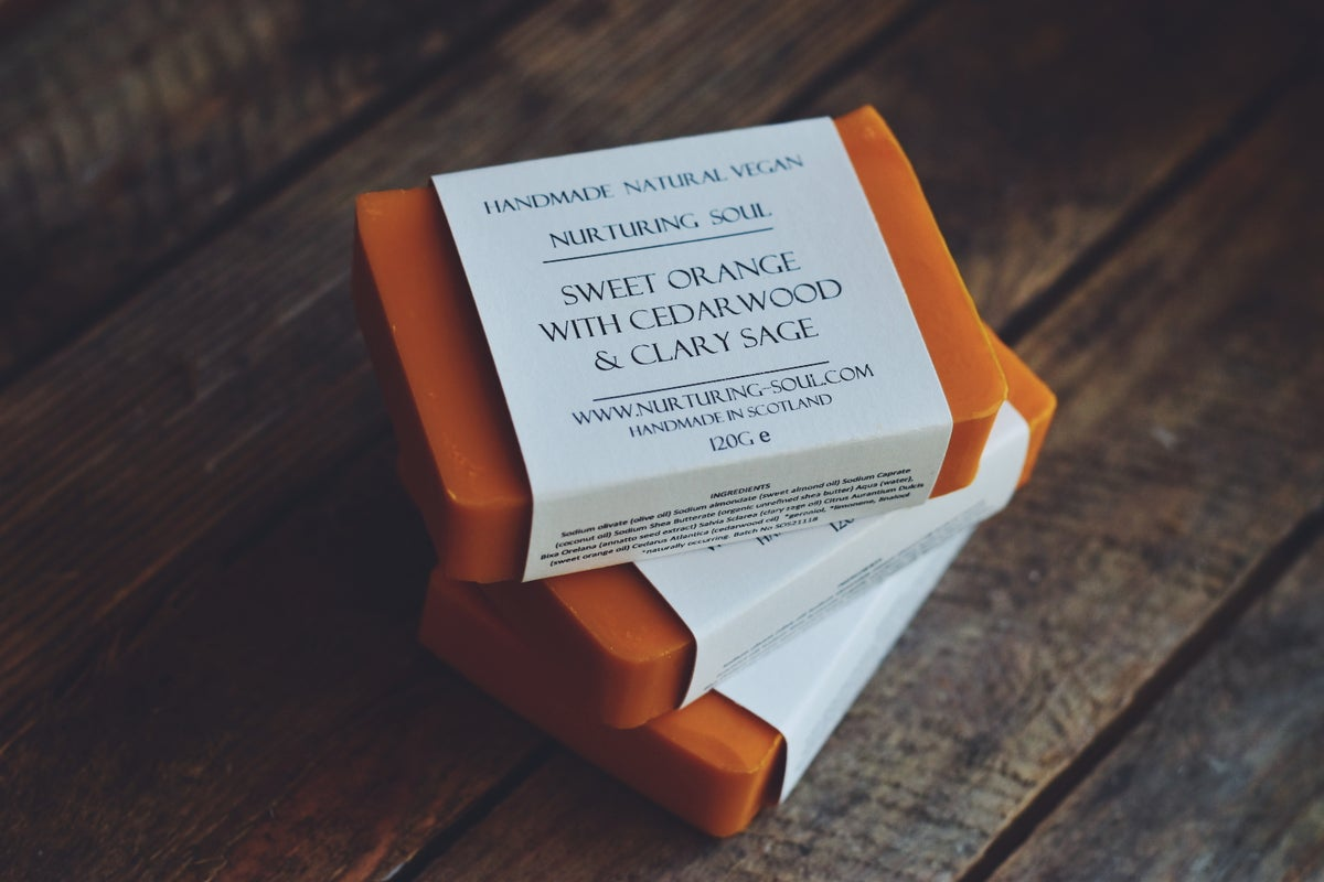 Image of Sweet orange with cedarwood & clary sage