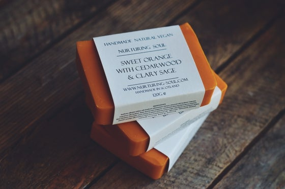 Image of Sweet orange with cedarwood & clary sage