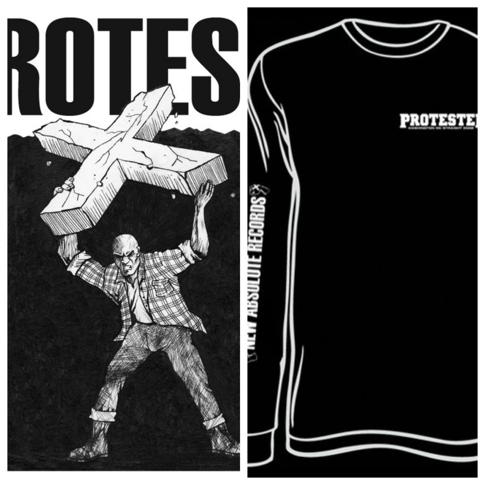 "Image of PROTESTER 12"" EP + Longsleeve Shirt"