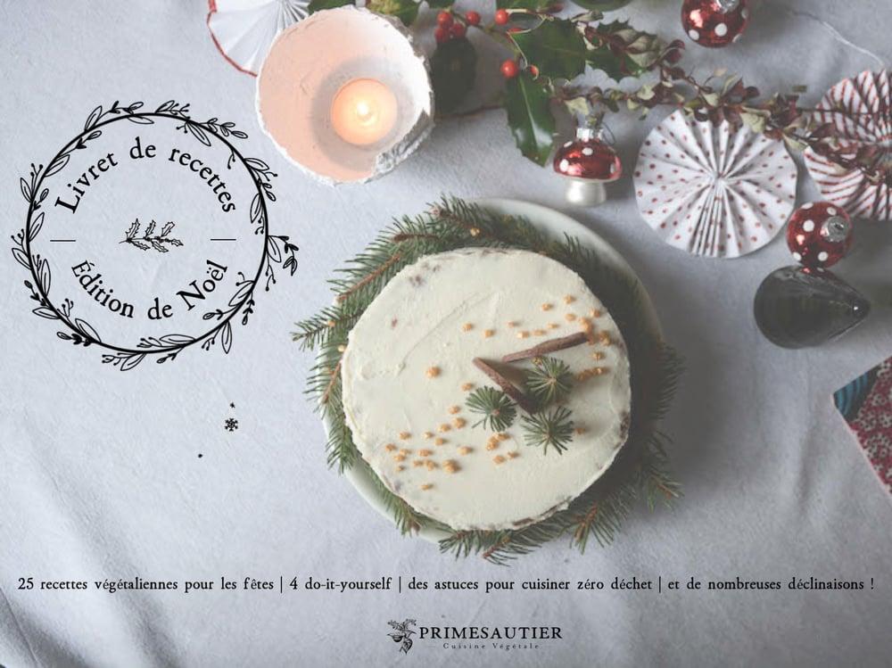 Image of Livret de recettes   Édition de Noël