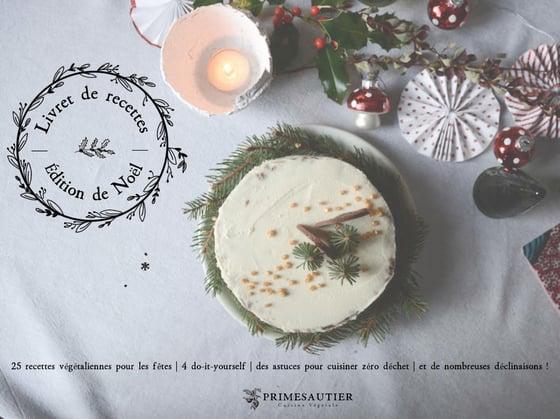 Image of Livret de recettes | Édition de Noël